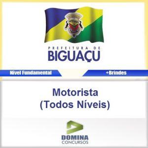 Apostila Biguaçu SC 2016 Motorista Todos os Níveis PDF