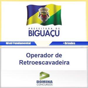 Apostila Biguaçu SC Operador de Retroescavadeira PDF