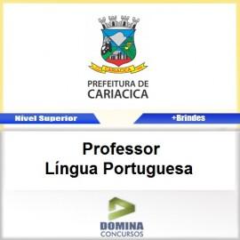 Apostila Cariacica ES Professor Língua Portuguesa PDF