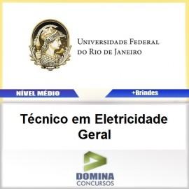 Apostila UFRJ 2016 Técnico em Eletricidade Geral PDF