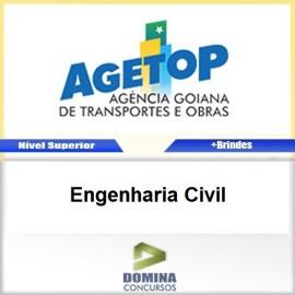 Apostila Concurso AGETOP 2016 Engenharia Civil PDF