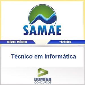 Apostila SAMAE RS 2016 Tecnico em Informatica PDF