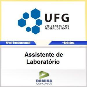 Apostila UFG GO 2016 Assistente de Laboratorio PDF