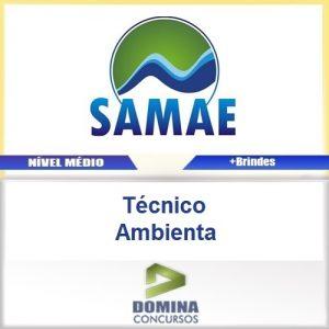 Apostila SAMAE RS 2016 Tecnico Ambiental PDF