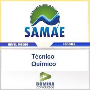 Apostila SAMAE RS 2016 Tecnico Quimico PDF