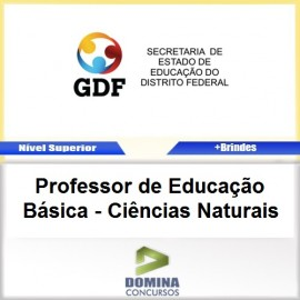 Apostila SEE DF Prof de Ed Basica Ciencias Naturais