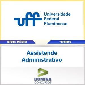 Apostila UFF SP 2016 Assistende Administrativo PDF