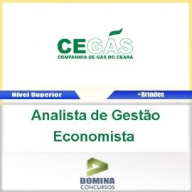 Apostila Cegás 2016 Analista Gestão Economista PDF