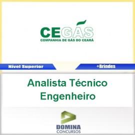 Apostila Cegás 2016 Analista Técnico Engenheiro PDF