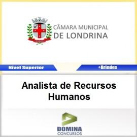 Apostila Camara Londrina PR Analista de RH PDF