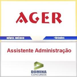 Apostila AGEM 2016 Assistente Administrativo PDF