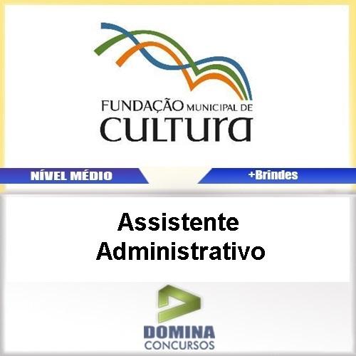 Apostila FMC MG 2016 Assistente Administrativo PDF