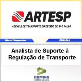 Apostila ARTESP 2017 Analista Regulação Transporte