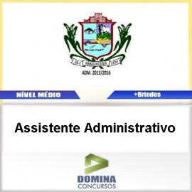 Apostila Araguacema TO 2017 Assistente Administrativo