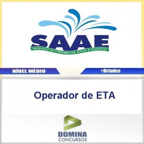 Apostila Concurso SAAE BA 2017 Operador de ETA