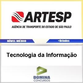 Apostila ARTESP 2017 Tecnologia da Informação