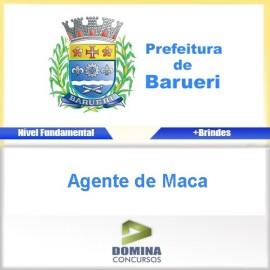 Apostila Barueri SP 2017 Agente de Maca PDF