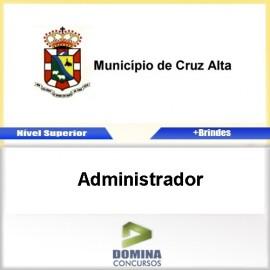 Apostila Concurso Cruz Alta RS 2017 Administrador