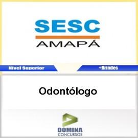 Apostila Concurso SESC AP 2017 Odontólogo PDF