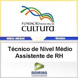 Apostila FMC BH 2017 Técnico Nível Médio Assistente RH
