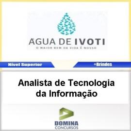 Apostila Autarquia Água Ivoti Analista TEC da Informação