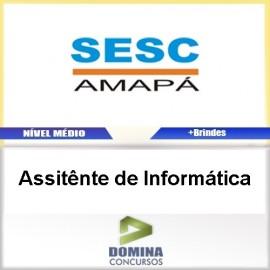 Apostila SESC AP 2017 Assistente de Informática