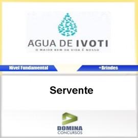 Apostila Autarquia Água de Ivoti 2017 Servente