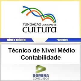 Apostila FMC BH 2017 Técnico Nível Médio Contabilidade