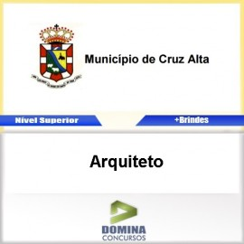 Apostila Concurso Cruz Alta RS 2017 Arquiteto PDF
