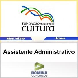 Apostila Concurso FMC BH 2017 Assistente Administrativo