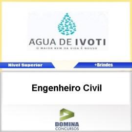 Apostila Autarquia Água Ivoti 2017 Engenheiro Civil