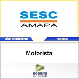 Apostila Concurso SESC AP 2017 Motorista Download