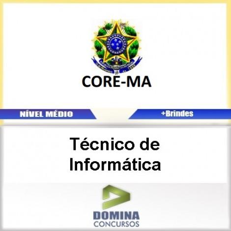 Apostila Concurso CORE MA 2017 Técnico de InformáticaApostila Concurso CORE MA 2017 Técnico de Informática