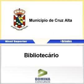 Apostila Concurso Cruz Alta RS 2017 Bibliotecário
