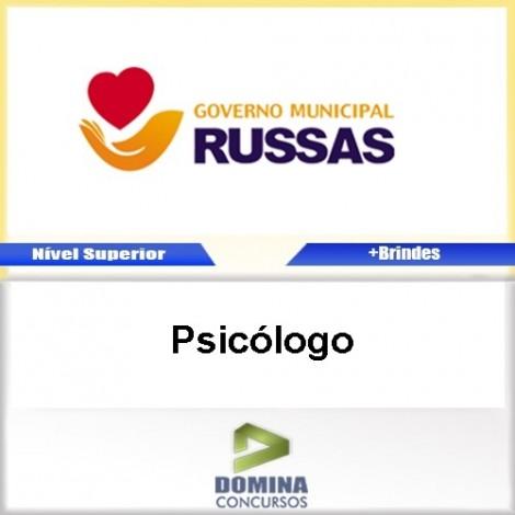 Apostila Concurso Russas CE 2017 Psicólogo Download