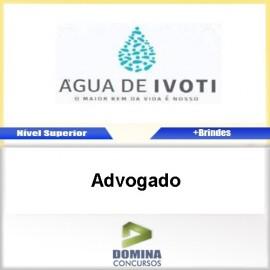 Apostila Autarquia Água Ivoti 2017 Advogado