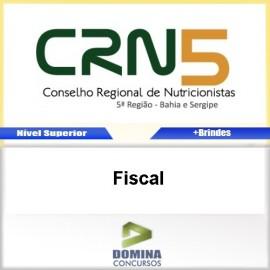 Apostila Concurso CRN 5 Região 2017 Fiscal PDF