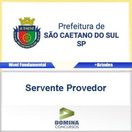 Apostila São Caetano do Sul SP 2017 Servente Provedor