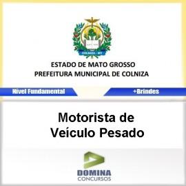 Apostila Colniza 2017 Motorista de Veículo Pesado