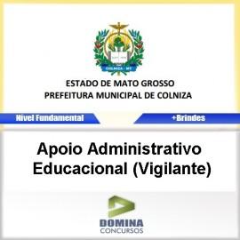 Apostila Colniza 2017 Apoio ADM Educacional Vigilante