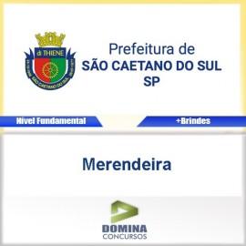 Apostila São Caetano do Sul SP 2017 Merendeira