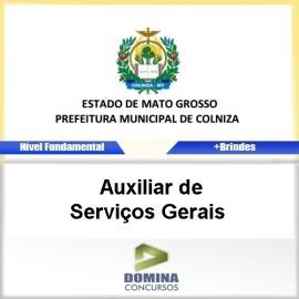 Apostila Colniza 2017 Auxiliar de Serviços Gerais