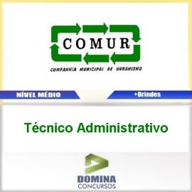 Apostila COMUR RS 2017 Técnico Administrativo