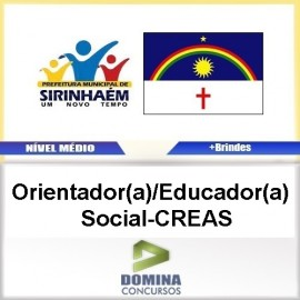 Apostila Sirinhaém PE 2017 Orientador Educador CREAS