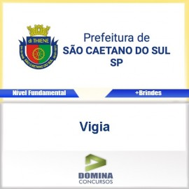 Apostila São Caetano do Sul SP 2017 Vigia Download