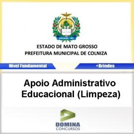 Apostila Colniza 2017 Apoio ADM Educacional Limpeza