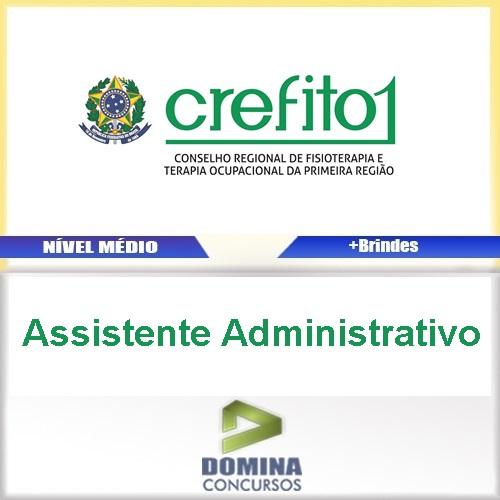 Apostila CREFITO 1 2017 Assistente Administrativo