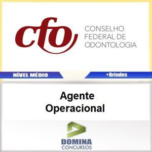 Apostila Concurso CFO 2017 Agente Operacional