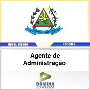 Apostila Córrego Danta MG Agente de Administração