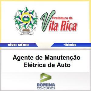 Apostila Vila Rica MT 2017 AGT Manutenção Elétrica Auto